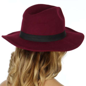 Merlot Autumn Panama Hat