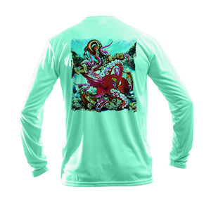 Anchor Octo Long Sleeve Performance Tee