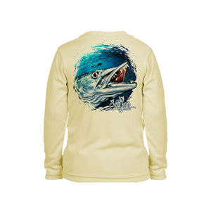Barracuda Long Sleeve Toddler Performance Tee