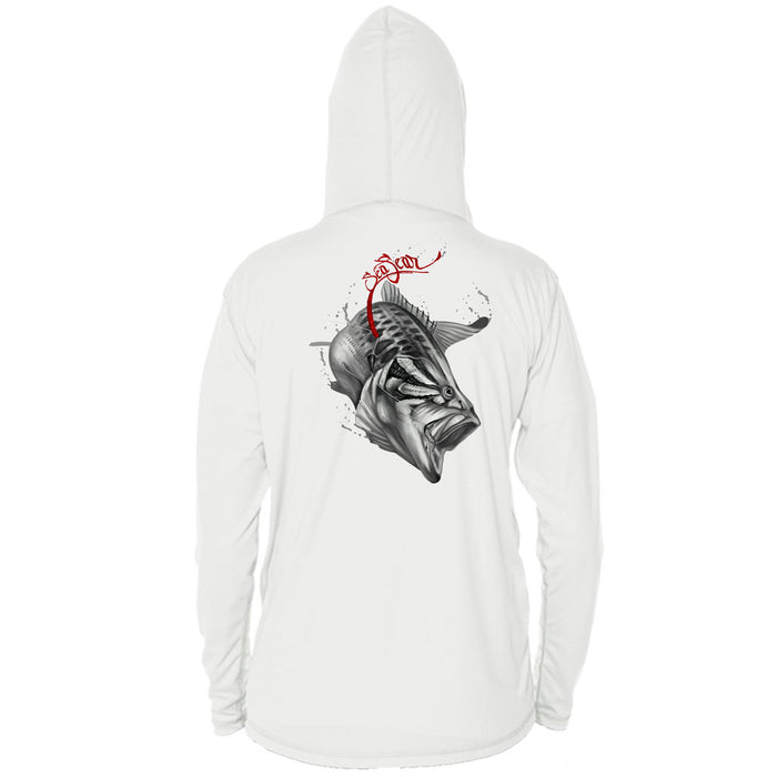 Bass/Worm Long Sleeve Performance Hoody
