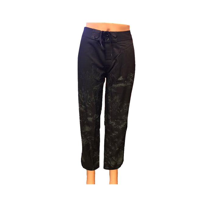 Women's Black Coral Beach Pants