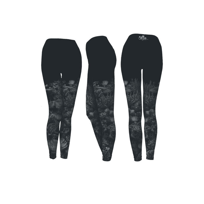 Black Coral Performance Leggings