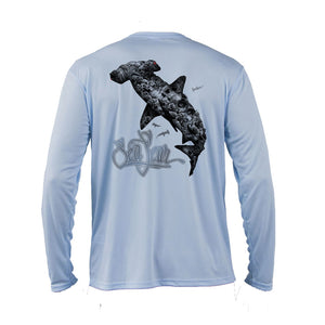 Coral Hammerhead Long Sleeve Performance Tee