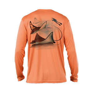 Eagle Ray Long Sleeve Performance Tee