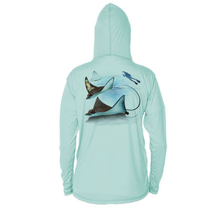 Eagle Ray Long Sleeve Youth Performance Hoody