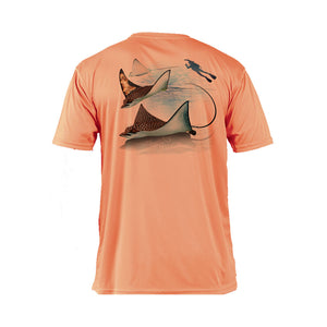 Eagle Ray Short Sleeve Performance Tee