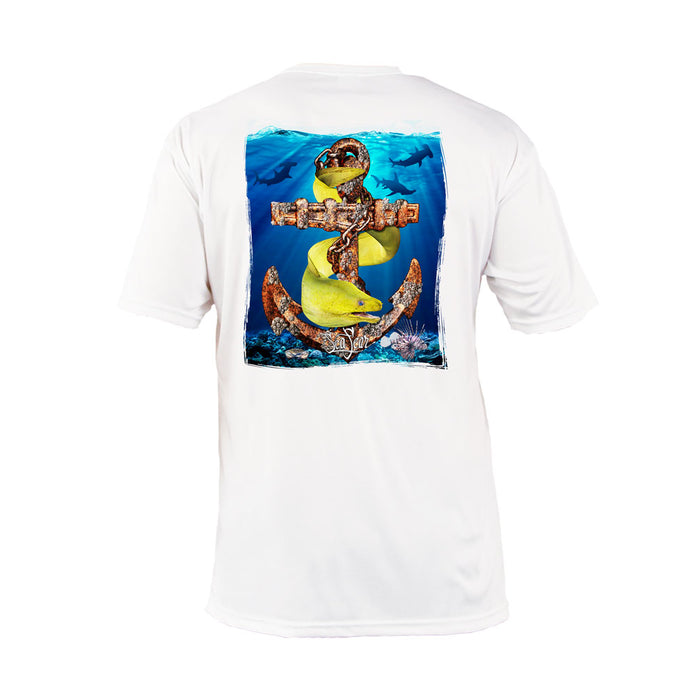 Anchor Eel Short Sleeve Performance Tee