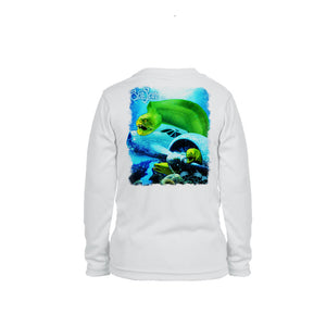 Eel Wreck Long Sleeve Toddler Performance Tee