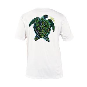 Electric Turtle Short Sleeve Performance Tee