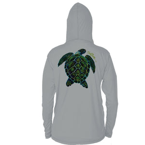 Electric Turtle Long Sleeve Performance Hoody