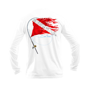Fish N Dive Long Sleeve Performance Tee