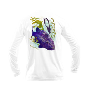 Giant Sea Bass Long Sleeve Performance Tee