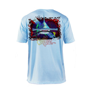 Hammerhead Dive Flag Short Sleeve Performance Tee