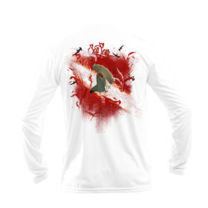 Hammerhead Kelp Flag Long Sleeve Performance Tee
