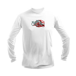Hogfish Dive Flag Long Sleeve Performance Tee
