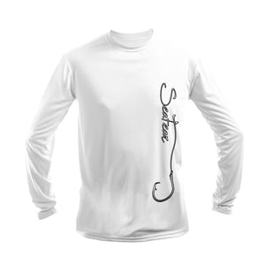 Hooked (Side Print) Long Sleeve Performance Tee