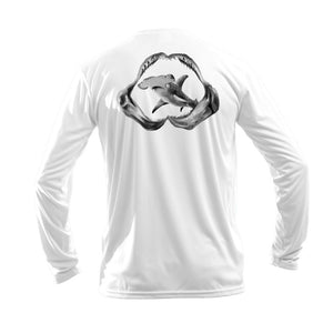 Jaws Hammerhead Long Sleeve Performance Tee