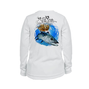 Kingfish Long Sleeve Youth Performance Tee
