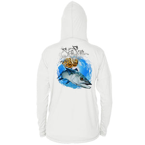 Kingfish Long Sleeve Youth Performance Hoody