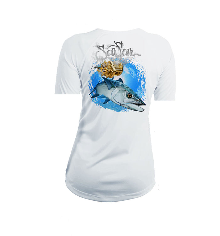Kingfish  Short Sleeve V-Neck Performance Tee