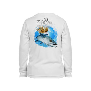 Kingfish Long Sleeve Toddler Performance Tee