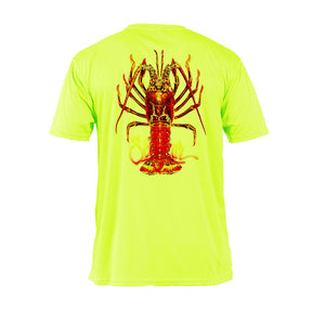 Large Lobster Short Sleeve Performance Tee
