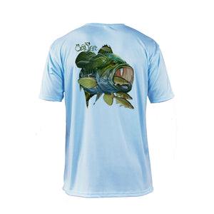 Large Mouth Bass Short Sleeve Performance Tee