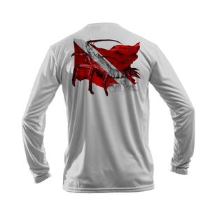 Lobster Flag 2020 Long Sleeve Performance Tee
