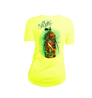 Lobster Tank Short Sleeve V-Neck Performance Tee