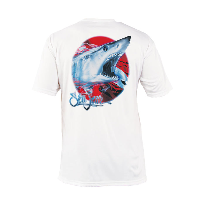 Mako Flag Short Sleeve Performance Tee