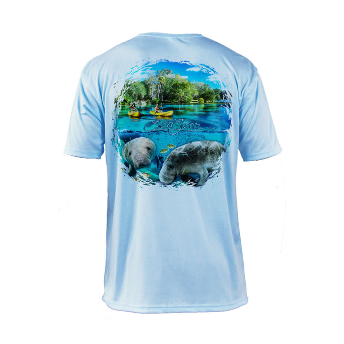 Manatee Kayak Short Sleeve Performance Tee