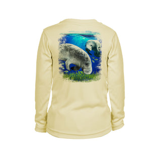 Manatee Long Sleeve Youth Performance Tee