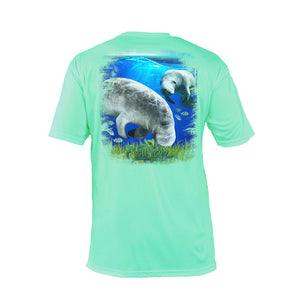 Manatee Short  Sleeve Performance Tee