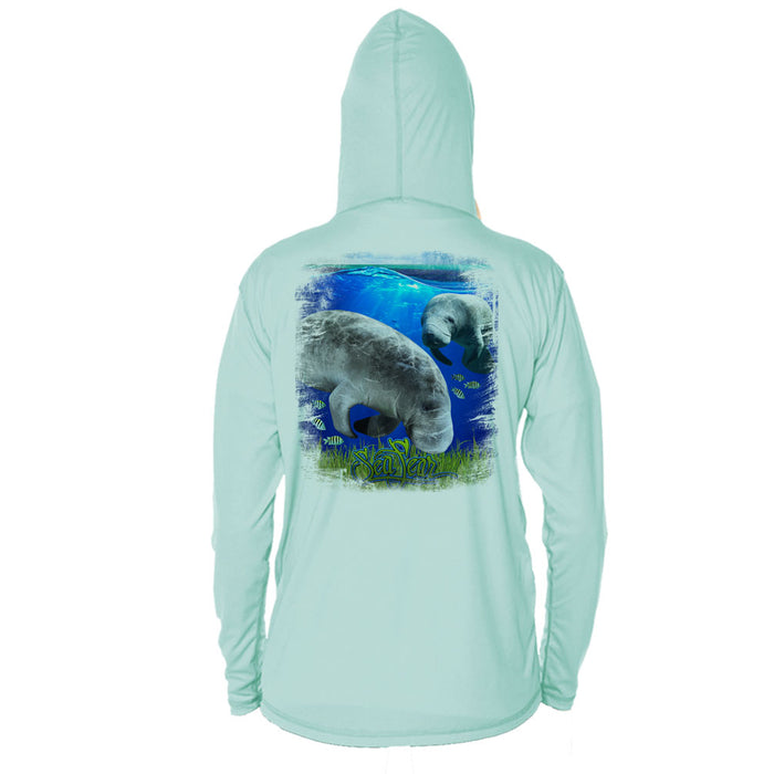 Manatee Long Sleeve Youth Performance Hoody