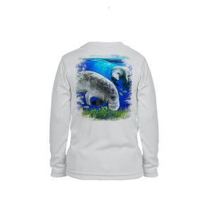 Manatee Long Sleeve Toddler Performance Tee