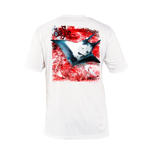 Manta Ray Short Sleeve Performance Tee