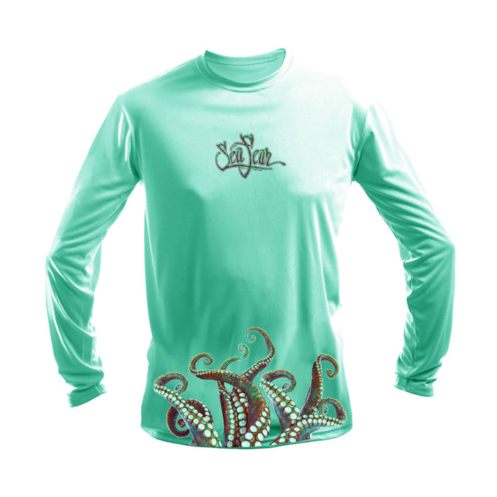 Octo Wrap (Bottom) Long Sleeve Performance Tee