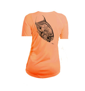 Permit Short Sleeve V-Neck Performance Tee