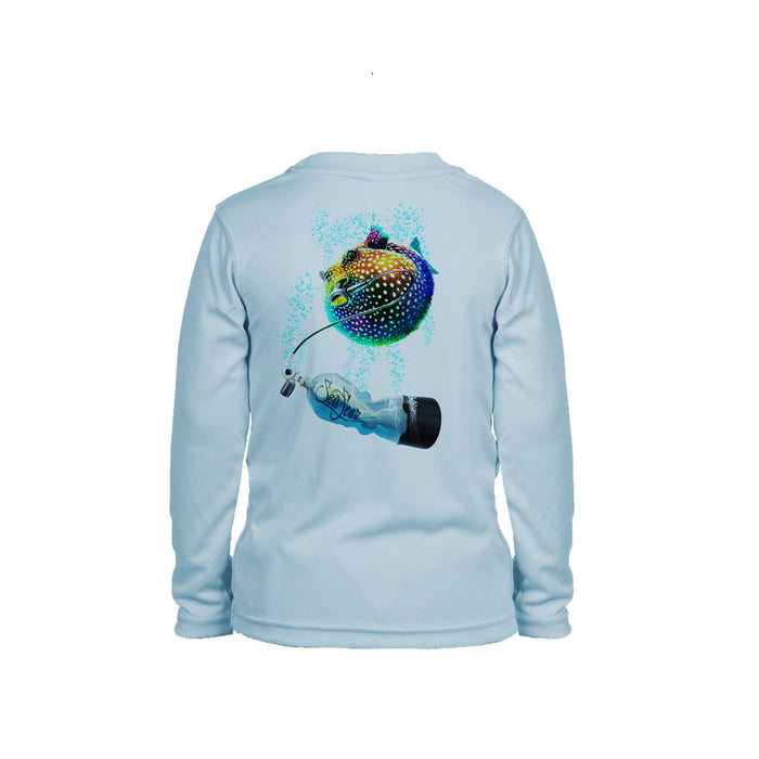 Pufferfish Long Sleeve Toddler Performance Tee