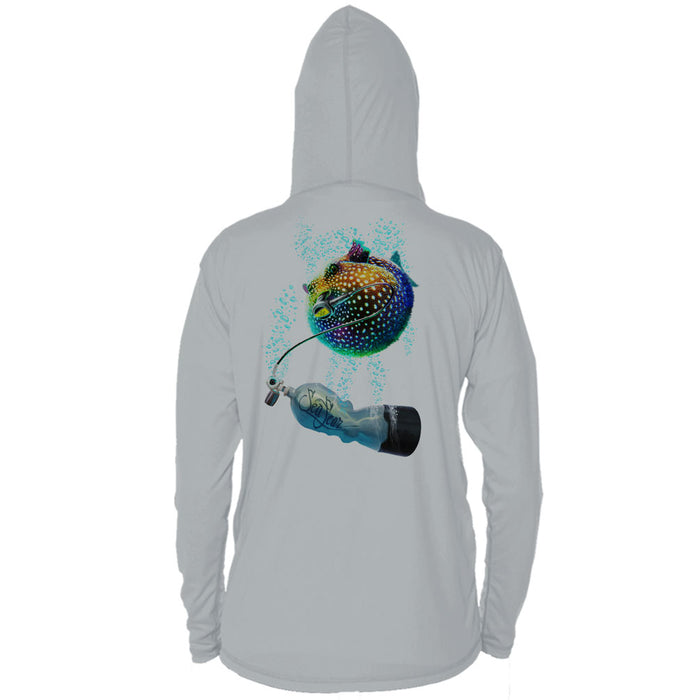 Pufferfish Long Sleeve Performance Hoody