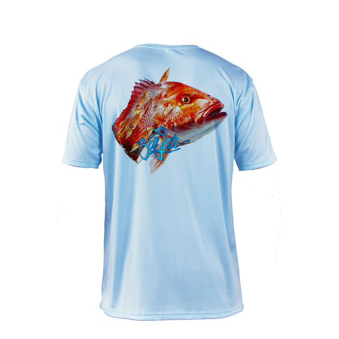 Red Snapper Short Sleeve Performance Tee