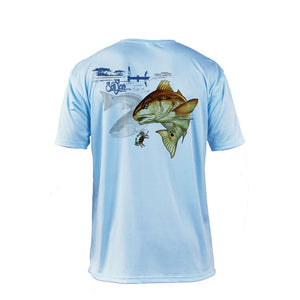 Redfish Short Sleeve Performance Tee