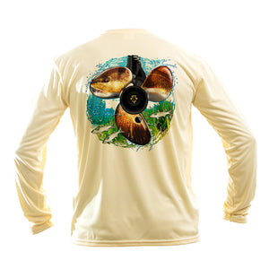 Redfish Prop Long Sleeve Performance Tee