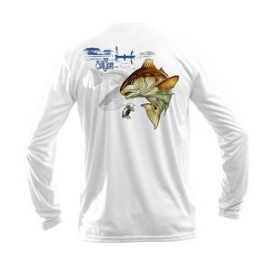 Redfish Long Sleeve Performance Tee
