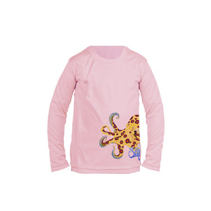 Ring Octo (Side Wrap) Long Sleeve Toddler Performance Tee
