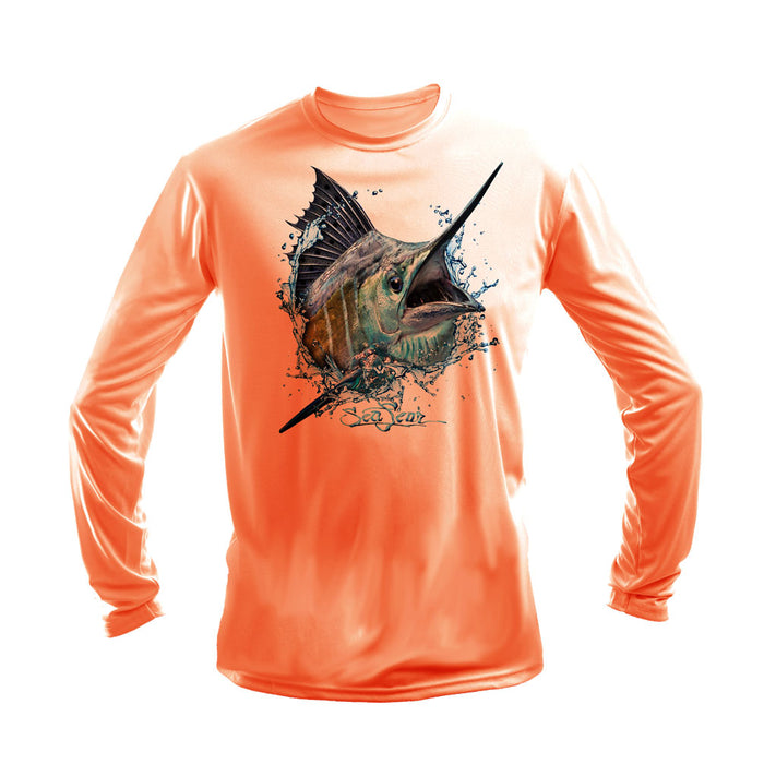 Sailfish Strike Long Sleeve Performance Tee