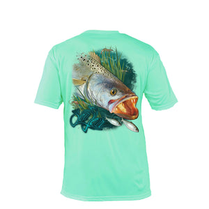 Sea Trout Short Sleeve Performance Tee