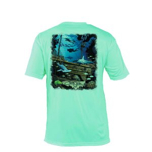 Shipwreck Short Sleeve Performance Tee