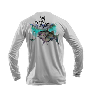 Striper Long Sleeve Performance Tee