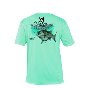 Striper Short Sleeve Performance Tee